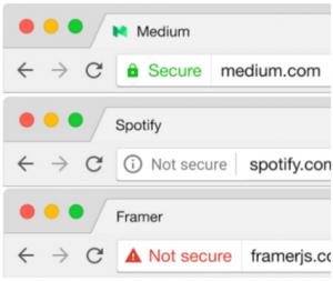 Affichage HTTPS en fonction des navigateurs